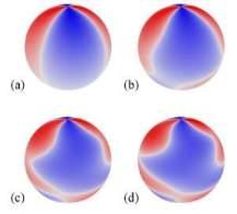 As simulações mostram que o espaço-tempo fica turbulento, e a gravidade passa a se comportar como um fluido. [Imagem: Yang/Zimmerman/Lehner]